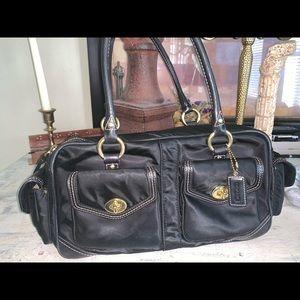 Coach nylon big purse